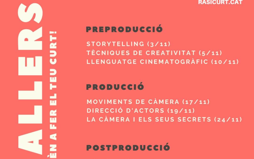 """Les formacions de cinema de """"Ras i Curt"""", a càrrec de Moviedron"""